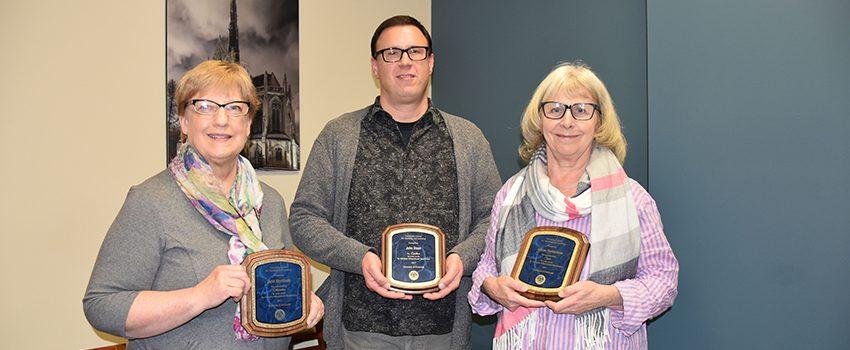 2017 Staff Award Winners