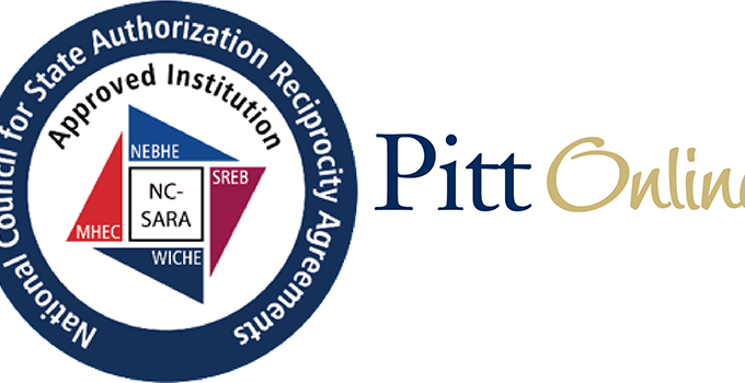 SARA + Pitt Online Logo