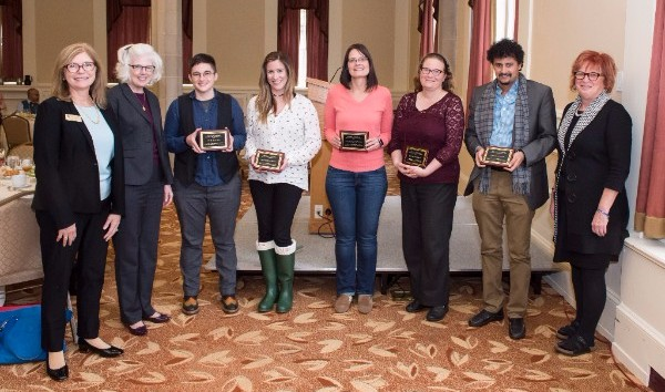 Provost's Award for Diversity in the Curriculum 2017 winners