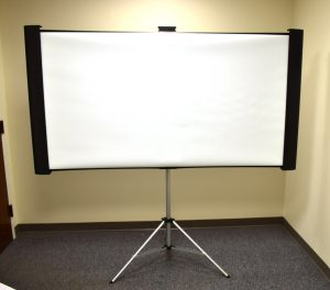 Epson Duet Ultra Portable Tripod Projection Screen For 4:3 And 16:9 Aspect Rations