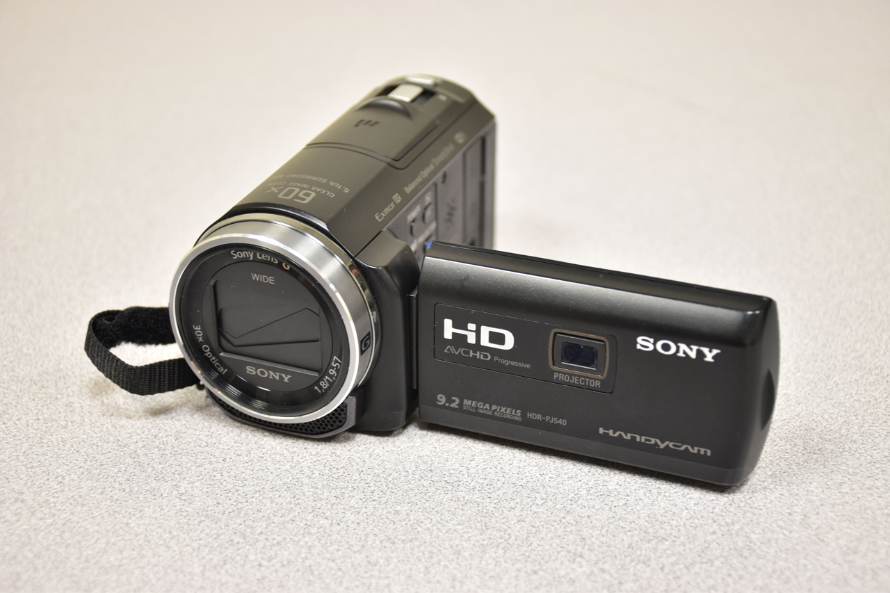 HD Camcorder with Mic Input