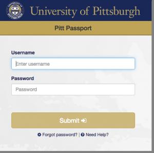 OMET- Screenshot - Pitt-Passport-Login-Screen