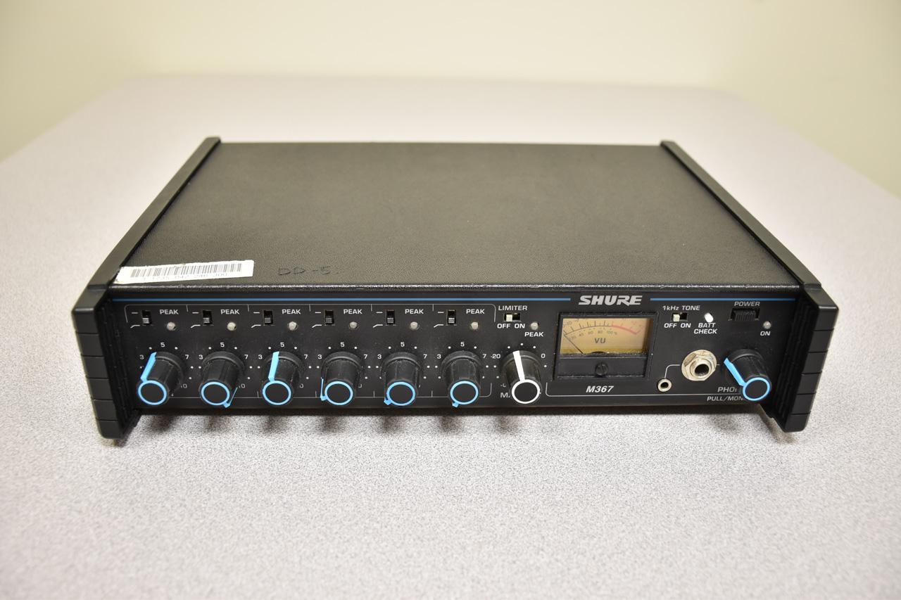 Shure M367 Mixer
