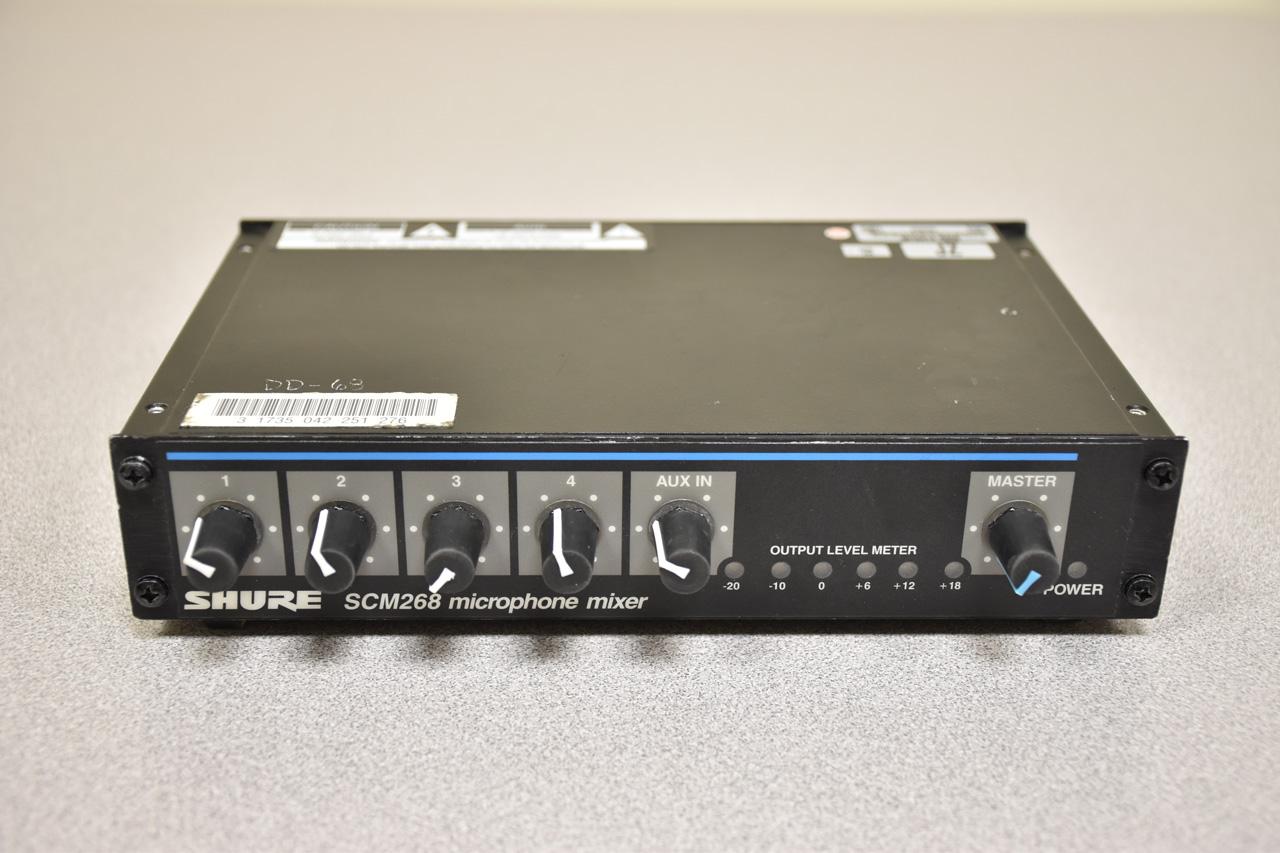 Shure SCM268 Mixer
