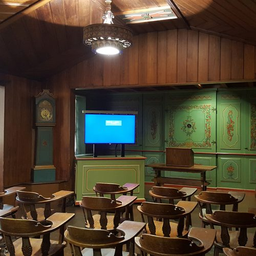 Learning Space Development - Norwegian Nationality Room Custom Equipment In Norwegian Nationality Room In Cathedral Of Learning