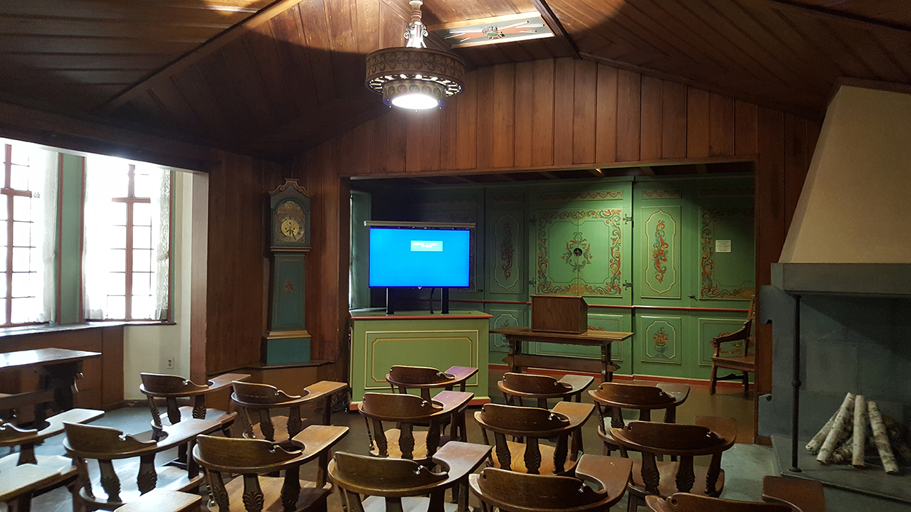 Learning Space Development - Norwegian Nationality Room custom equipment