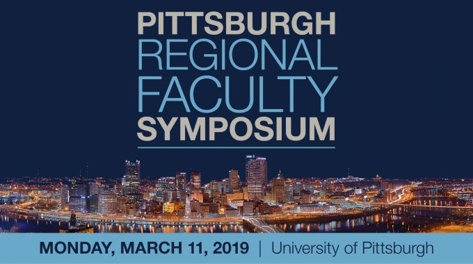2019 Pittsburgh Regional Faculty Symposium Banner