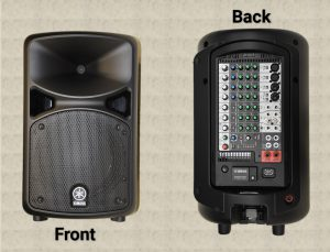 Classroom Services Equipment: Yamaha Stage PAS PA System