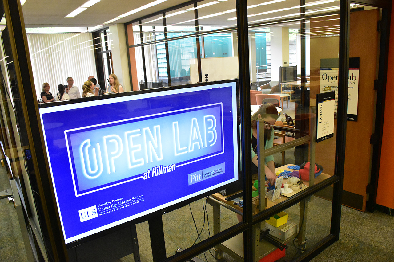 Open Lab - Hillman Library