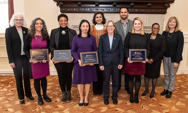 Provost's Award for Diversity in the Curriculum Winners - 2019
