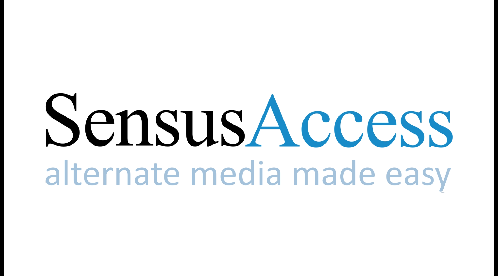 Sensus Access for Accessible Content