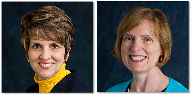 Barbara Frey And Lorna Kearns Headshots