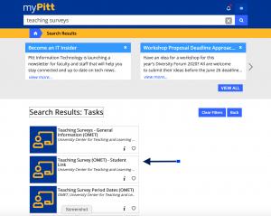OMET-screenshot - My Pitt View