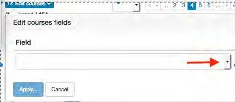 Screenshot of editing filter options in OMET teaching surveys.